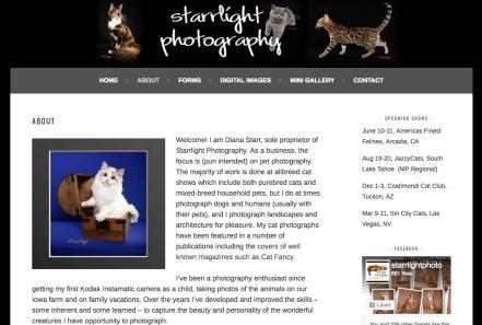 Portfolio Example - Starrlight Photo