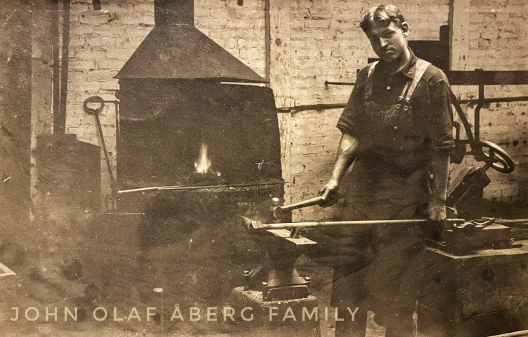 John Olof Oberg at forge